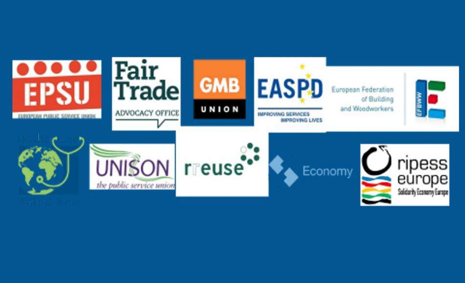 Joint statement on EU Recovery funds logo