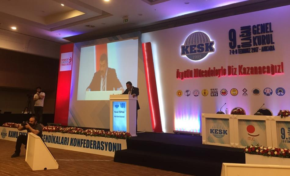 Kesk Congress Ankara June 2017