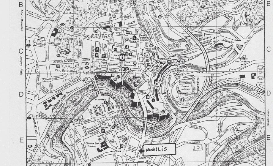 Map Jean Monnet Building