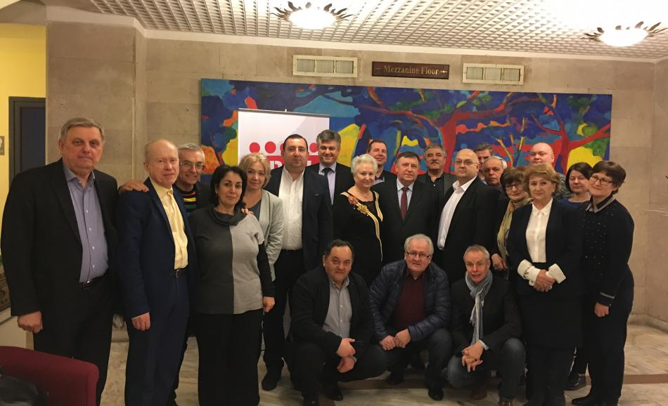 North East European constituency meeting, 20-21 February 2017, Yerevan