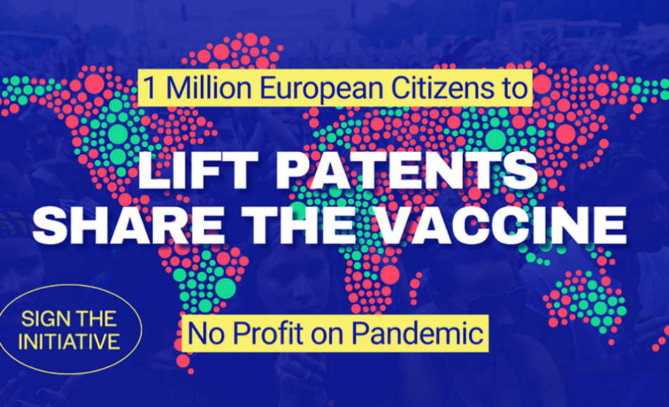 No profit on pandemic lift patent logo