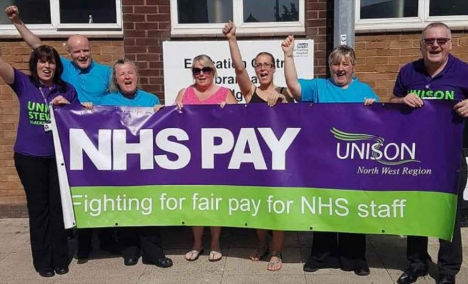UNISON North West outsourcing strike