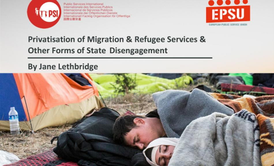 PSI-EPSU Privatisation of Migration & Refugee Services cover web