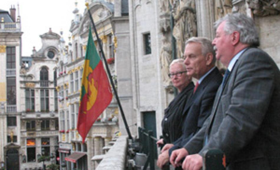from left to right: C. Fischbach-Pyttel, J.-M. Avrault and F. Thielemans