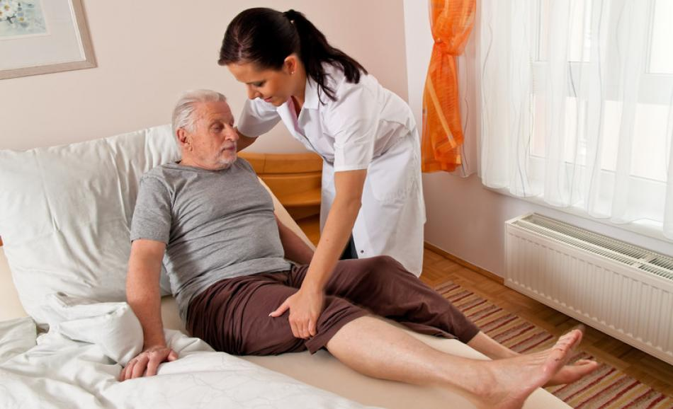 Stock Photo - Nurse in aged care - gina_sanders