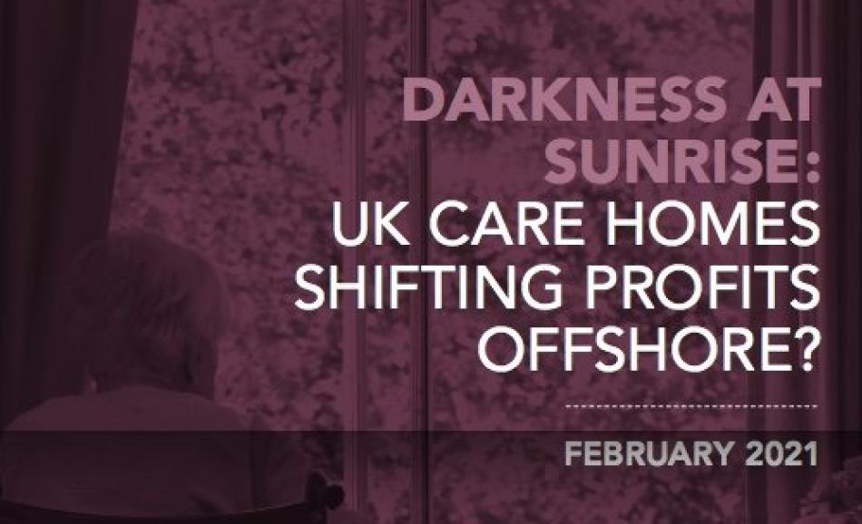UK care homes Shifting Profits Offshore logo