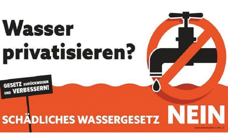 Water privatisation Zurich logo