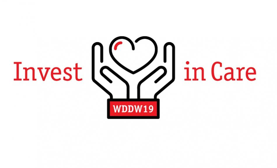 World Day for Decent Work 2019 logo Invest in Care