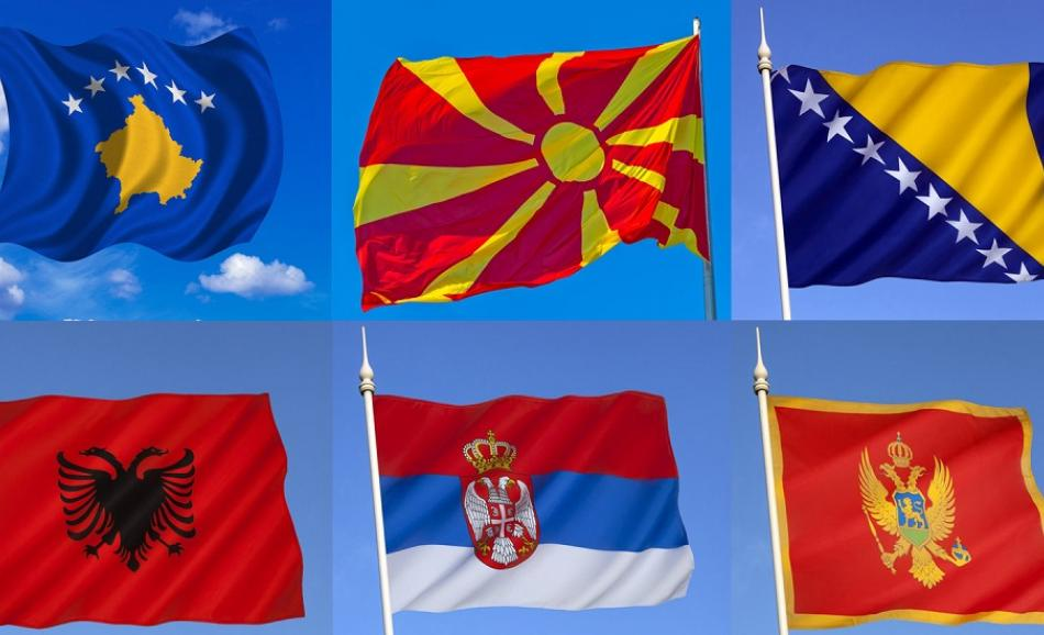 western balkans all flags