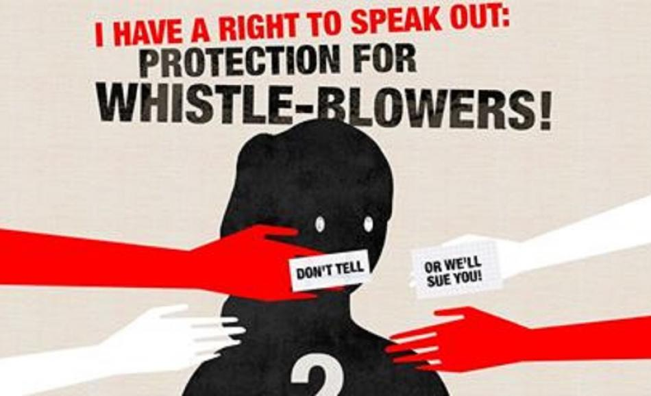 Whistleblowers protection
