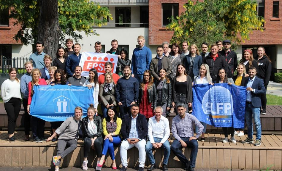 EPSU Youth Network meeting participants - Dublin 2019