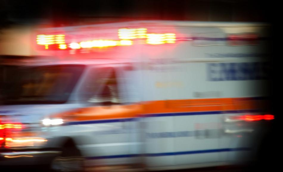 ambulance rushing to scene of accident © Can Stock Photo / bradcalkins