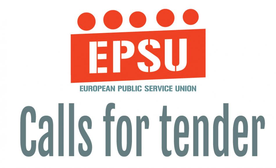 Call for tender logo EPSU