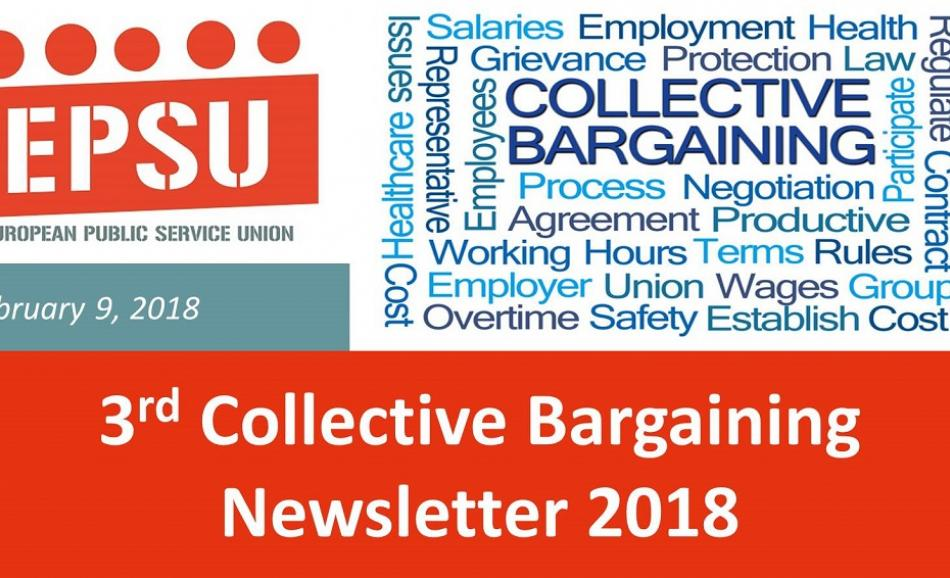 EPSU collective bargainining newsletter 9 February 2018