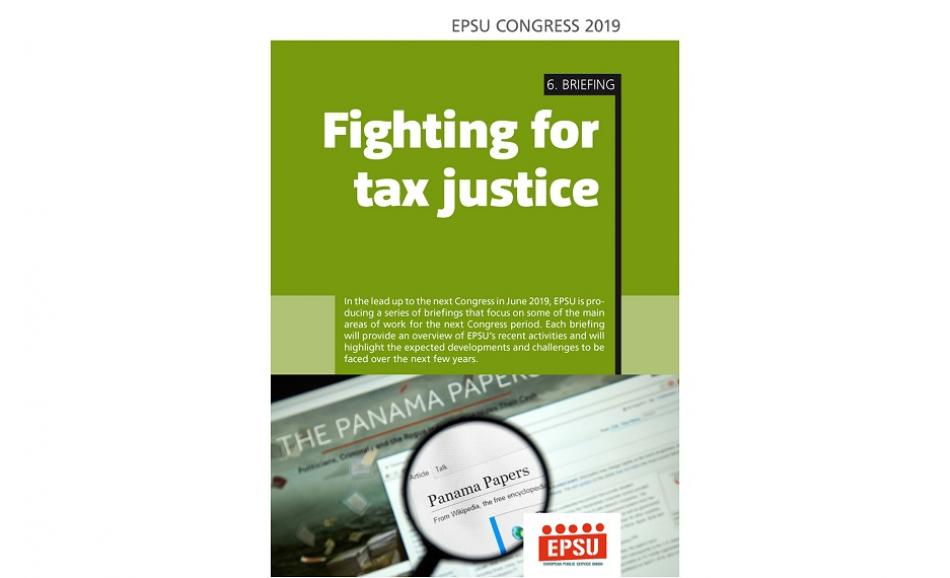 6 Congress Briefing : fighting for taxt justice cover