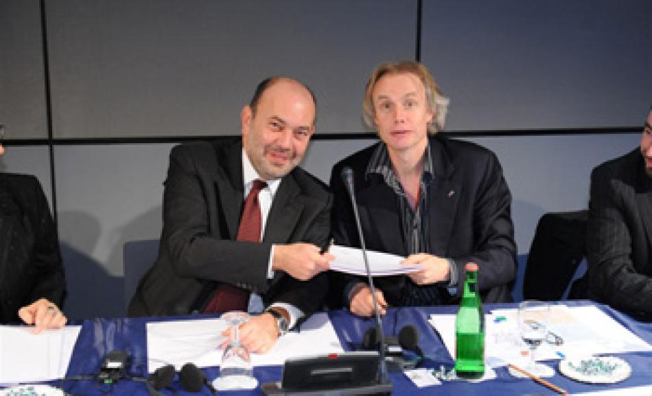 With ENEL HR Director Mr. Cioffi