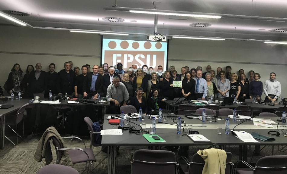 EPSU Standing Committee for Health and Social Services 27 February 2019