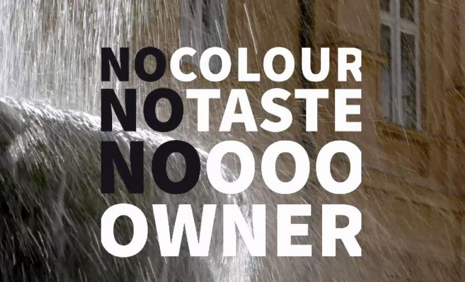 no color no taste no owner - Human Right to Water - Lithuania
