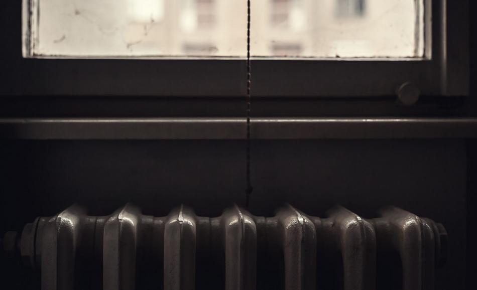 Energy poverty - old radiator and window ©CanStockPhotokrsmanovic