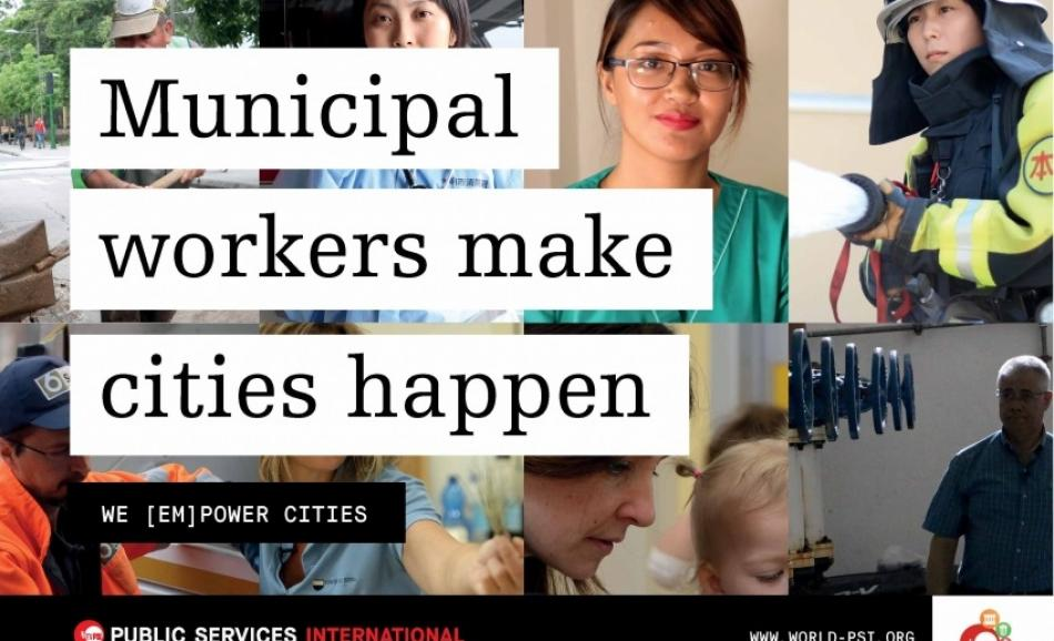 Municipal workers make cities happen