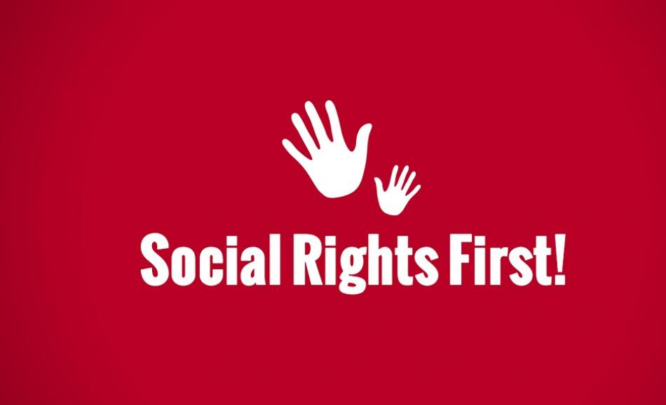 Social Rights First campaign logo