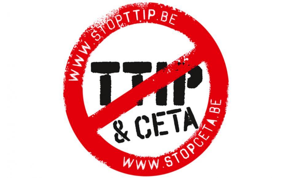 Stop TTIP logo