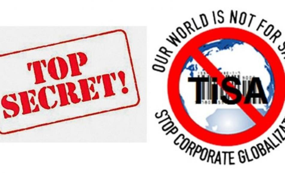 TiSA - our world is not for sale
