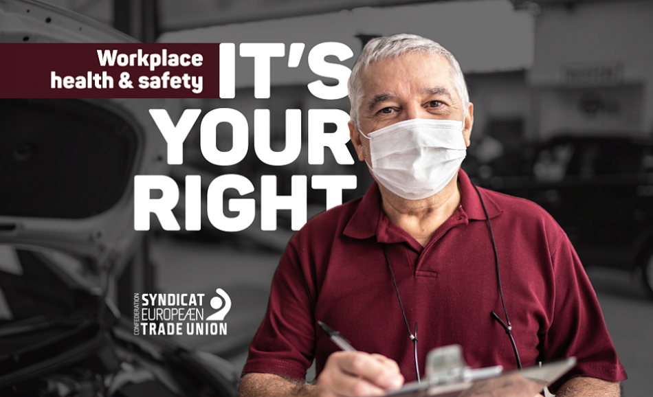 Workers Memorial Day: Health and Safety is your Right logo