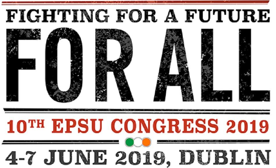 logo EPSU Congress 2019
