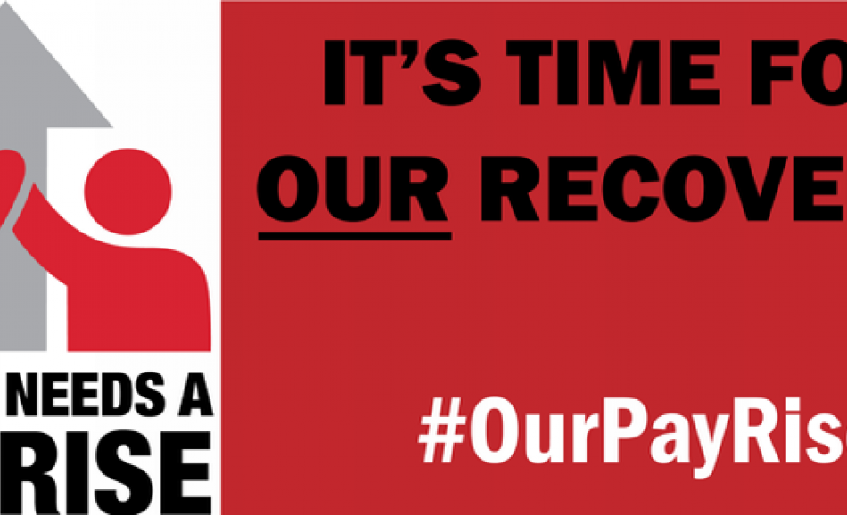 ETUC Pay Rise campaign banner